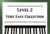 Level 2 (very easy) piano sheet music / Level 2 (very easy) piano sheet music for classical, folk & ragtime arranged & edited by Mizue Murakami from Galaxy Music Notes.
