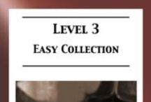 Level 3 (easy) piano sheet music / Level 3 (easy) piano sheet music for classical, folk & ragtime arranged by Mizue Murakami from Galaxy Music Notes