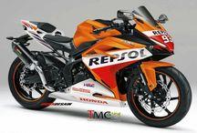 "2016 / 2017 Honda CBR250RR Sport Bike | Motorcycles / New Honda CBR Sport Bike / Motorcycle Concept for the possible new 2016 / 2017 CBR250RR / CBR300RR / CBR350RR called the ""Light Weight Super Sports Concept"""