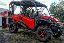 Custom Honda Pioneer 1000 | UTV /  Side by Side ATV / SxS / 4x4 Utility Vehicle / 130 Honda Pioneer 1000 Pictures: Lifted & Large Tires / Wheels / Accessories | Side by Side ATV / UTV / SxS / 4x4 Utility Vehicle