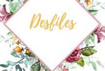 Desfiles / Semanas de moda, desfiles de alta costura, novas coleções.