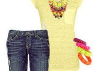 Estilo | Primavera-Verão / Inspiração de moda para as estações quentes.