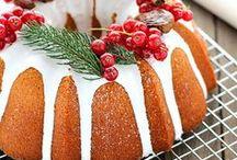 Christmas Bundt Cakes - Skandiblog / Bundt cakes abound! Our favourite Scandi Christmas time cake ~