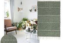 Pair it with a pattern! / New patterned rugs at Skandihome - visit http://skandihome.com/skandiblog/living/pair-with-pattern-skandihome-new-rugs/ to read more!
