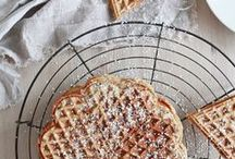 Vaffeldagen! - Swedish Waffle Day / All the visual inspiration from our Vaffledagen blog post at www.skandiblog.com ~ we can't get enough of the sweet stuff! Try them on Mother's day for a winning combination!
