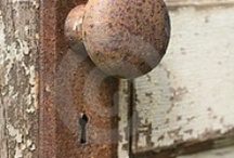 Knobs, Knockers, & Hardware / Door Knobs that will turn your head / by Joan Hoffman
