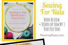 Montessori Sewing, Practical Life