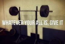 Motivation / Always give it all you got!