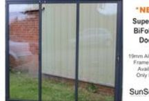 SuperSlim Bi Folding Doors / Revolutionary bi folding doors with aluminium frame-width only 19mm