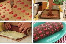 roll cake / Decorar brazos de gitano