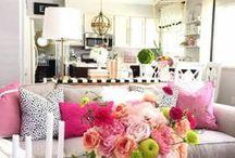 DECOR ❤ Sala / Inspirações para decorar e criar uma linda sala de estar.