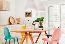 DECOR ❤ Sala de Jantar / Inspirações para decorar e criar uma linda sala de jantar.