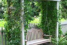 DECOR ❤ Jardim / Decorações, ideias e inspirações para jardins.