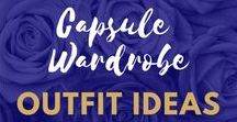 capsule wardrobe outfit ideas / Inspirational Outfit Ideas to help build a fashionable and timeless capsule wardrobe