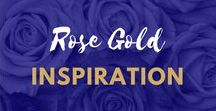 rose gold inspiration style / Rose Gold Home Accessories Inspiration and Ideas for Home Decor and Interior Designers. Transform your Living Room, Bedroom, Kitchen or Dining room with a touch of Glamour
