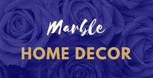 Marble Home Decor Inspiration / #Marble #HomeDecor   #Marble #Accessories   #Marble #Desk Accessories   Marble #Stationary Marble Interiors   Marble Gift Ideas