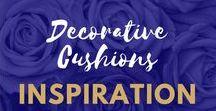 Decorative Cushion Inspiration UK / Cushion Inspiration for Living Room or Bedrooms   #HomeDecor #Cushion #Cushions #Decor #Interiors