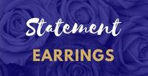Statement Earrings / #Statement #Earrings for #JewelleryAddicts
