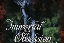 Immortal Obsession, my debut novel. / In 18th century France, Christian Du Maure follows his best friend into the world of the Parisian vampires.  Against the backdrop of the French Revolution and following an affair with a mortal aristocrat, he promises to watch over her daughter only to learn the child is his.  Now settled in Manhattan, only two descendants of his union remain, Amanda and her brother Ryan.  When their worlds collide, Christian cannot prevent Amanda from becoming a pawn in a centuries-old struggle for power.