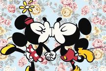 Mickey and Minnie Mouse / my friends Mickey Mouse and Minnie Mouse   / by Elizabeth Rodriguez