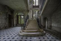 Chateau des singes / Abandoned chateau in the far reaches of Normandy France