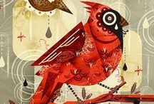 0 ilustración aves / by dayanos arte
