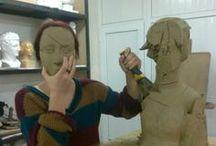 sculptures / atölye çalışmaları