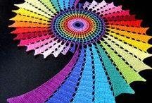 Crochet: Doilies, Mandalas / crochet