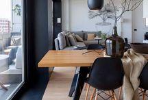 Decor and interior. / Scandinavian style.