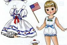 woman paper doll