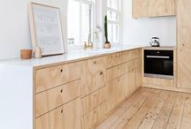 Kitchen and handles