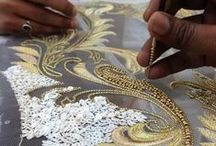 embellishment - beading & embroideries / surface decoration - beading, embroideries, embellishment details / by Tyrone James