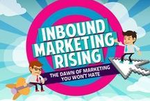 Inbound Marketing / Inbound Marketing refers to activities that bring visitors in, rather than having to solicit prospects' attention. Inbound marketing earns the attention of customers, makes the company easier to be found, and draws customers to them.
