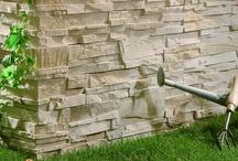 Pietra Ricostruita / Adatta agli interni così come per i rivestimenti esterni , la pietra ricostruita IPERCERAMICA è anche molto facile da installare.