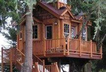 Casas del árbol - treehouses
