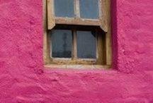 Buganvilia - Pink / Espacios interiores con matices rosados.