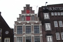 Amsterdam • houses • details  / I love The Netherlands.  / by Jo Ruth