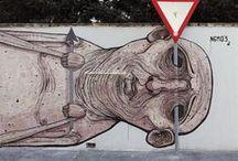iluv street art / street art and urban spaces / by Regina Montinola