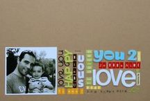Scrapbooking Inspiration / by Gina M.