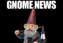 Gnomes, Trolls, Elves? / Gnomes, Trolls and Elves? Find funny gnomes, humorous trolls, silly elves, gnome humor, jokes, puns, elfin visitors and mischievous garden gnomes before they find you! / by Mary Sedivy