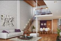 Lofts • Moved from Houses and Architecture / by Jo Ruth
