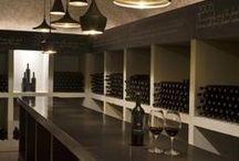 Cavas - wine cellar / Barras de bar, cavas