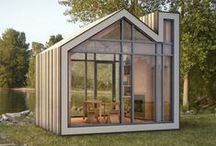 1aTiny and small Houses / Small and super tiny homes, container homes, cabin and treehouse. / by Jo Ruth