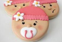 Sugar cookies/ baby