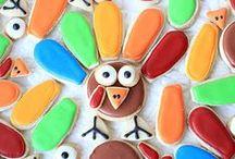 Sugar cookies/ Thanksgiving