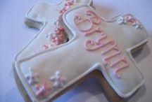Sugar cookies/ christening/ communion