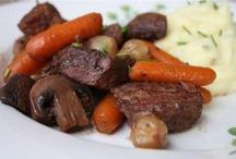 1Beef recipes / by Jo Ruth