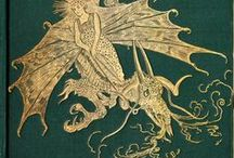 Painted Dragon / Visual inspirations for The Sinclair's Mysteries: The Painted Dragon