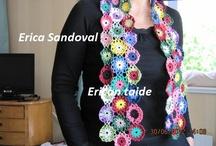 Crochet, cuero, tela, artesanias y mas.. / Todas las fotografias subidas en éste espacio son de creaciones realizadas por Erica Sandoval V.