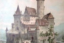 """Castles / """"There are no rules of architecture for a castle in the clouds."""" - G. K. Chesterton"""